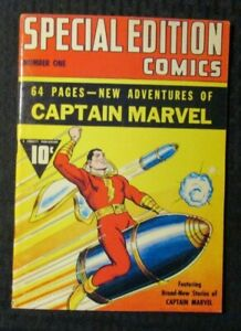 1970s FLASHBACK #2 FN+ 6.5 Reprint Special Edition Comics #1 Captain Marvel
