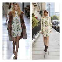 UNIQUE Topshop Womens Size 10 or US 6 Edenvale Floral Print Dress NEW + TAGS