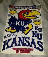 Kansas Jayhawks Logo Static Cling Window Clings The University of Kansas