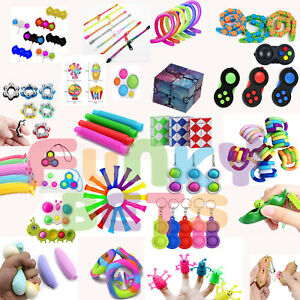 Fun Sensory Toy Stress Reliever Ball Hand  Autism Anxiety Fidget Kids Adults UK