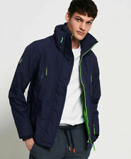 New Mens Superdry  Technical Sd-Windattacker Jacket Nu Navy