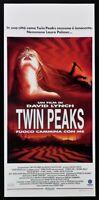 Cartel Fuego Camina Con Me Twin Peaks David Lynch Sheryl Lee Bowie Película L100