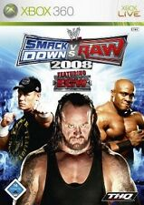 XBOX 360 SMACKDOWN vs RAW 2008 * Top Zustand