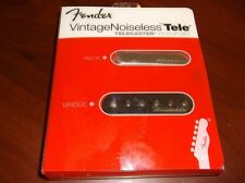 NEW Fender Vintage Noiseless Telecaster Pickup Set, 099-2116-000