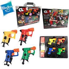 Hasbro Nerf Blaster Mini Gun Clue Elimination Game CHILD KID SHOOTING SET TOY