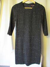 robe comptoir des cotonniers noir chiné taille S