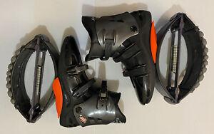 Kangoo Jumps KJ XR3 X-Rebound Boots Shoes Size XL - Orange Black