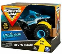 MONSTER Jam REV 'N ROAR megalodon spin master
