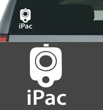 IPAC GUN VINYL DECAL STICKER TRUCK CAR IPAD LAPTOP 2A 2ND AMENDMENT WHITE