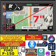 2009-14 F150 Navigation Bluetooth Usb Aux Car Radio Stereo Package