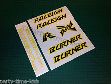 Raleigh Burner Stickers Decals with BX23 forks Old School Bmx Vintage bmx