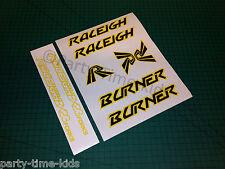 Raleigh Burner Old school bmx  Frame & Forks set with BX23 forks Decals Stickers