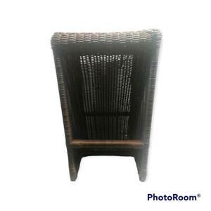"Rattan Wicker Bar Stool Indoor Outdoor Bar stool 15x15x25"""