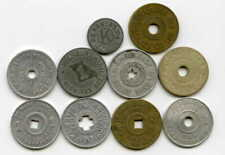 Sales Tax Tokens Lot of 10 JG117
