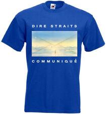 Dire Straits - Communique T-shirt blue poster all sizes S...5XL