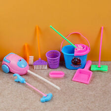9stück Kinder pretend play spielzeug mini reinigungsset kehrschaufel besen C2Y1