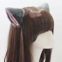 Headwear Animal Costume Cosplay Cute Neko Cat Ears Party Hair Clip Ear