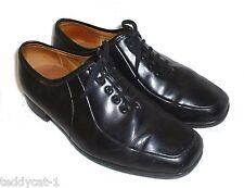 BONVING ~ hochwertige Leder Schnürschuhe ~ schwarz ~ Gr. 6,5 (40)