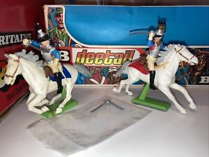 britains deetail toy soldiers 1971 Napolionic