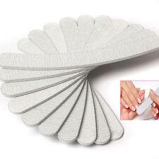 10PCS Nail Art Sanding Files Buffer Block Pedicure Manicure  Tools UV Gel Set
