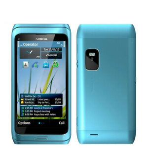 "Original Unlocked Nokia E7 Slide QWERTY Keypad 16GB 3G Wifi 4""Touch Screen Phone"