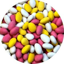 Sugared Almonds 1KG WEDDING FAVOURS Pick n Mix RETRO SWEETS Party Bags