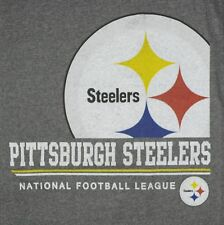 NFL STEELERS SIZE XL T-SHIRT PITTSBURGH FOOTBALL BIG LOGO 1933