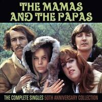 THE MAMAS & THE PAPAS - THE COMPLETE SINGLES: 50TH ANNIVERSARY COLLECTION NEW CD