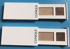 2xClinique All About Shadow Duo 01 Like Mink Duo Deluxe Travel Size 0.06oz./1.7g