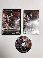 Samurai Warriors (Sony PlayStation 2, 2004) PS2 Complete Tested CIB Fast Ship