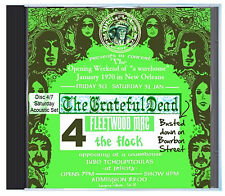 GRATEFUL DEAD first ever acoustic set, Jan 31 1970 New Orleans, LIVE on CD