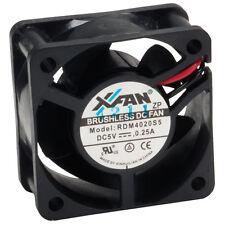 X-fan Ventilador Axial 40 X 40 X 20 Mm Dc cojinete de manga 5v De Bajo Voltaje