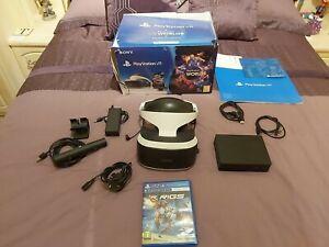Sony PlayStation PSVR Starter Pack + RIGS game  (V2)