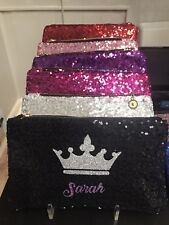Custom Bling Personalized Oversized Makeup Bags