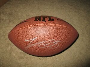 Minnesota Vikings KIRK COUSINS Signed NFL Football