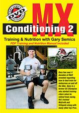 Motocross MX Training Conditioning 2 DVD by Gary Semics