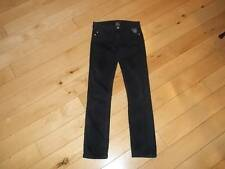 SIZE 14 - $46 JUNIORS MECCA 27x29 EMBELLLISHED BLACK JEANS - 27 Waist 29 INSEAM