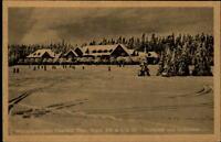 Oberhof  Thüringer Wald AK ~1920/30 Partie am Golf Hotel mit Golfwiese Golfplatz