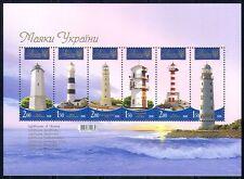 Ukraine 2010 Lighthouses/Maritime Safety 6v m/s  n28937