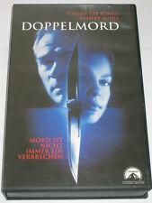 Doppelmord - VHS/Thriller/Tommy Lee Jones/Ashley Judd