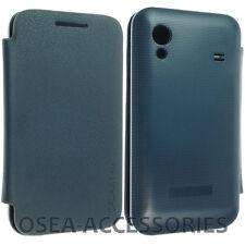 SAMSUNG Galaxy Ace S5830 Batteria Indietro Cover Custodia Pelle Portafoglio FLIP SLIM SMART