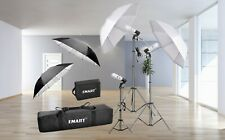 Photography Video Studio Lighting Kit Emart 600W Day Light Umbrella Continuous
