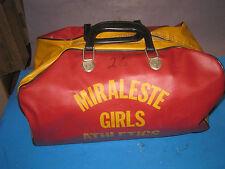 SPORTS DUFFLE ATHLETIC  GEAR BAG Miraleste HS Palos Verdes Ca Girls vintage 02S3