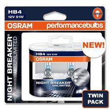 HB4 9006 OSRAM NIGHT BREAKER UNLIMITED BULBS ALPINA B3 (E46) 99- FOGLIGHT FOG