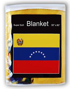 Venezuelan Flag Fleece Blanket *NEW* Throw Cover Bandera Nacional de Venezuela