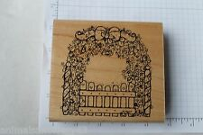 D.O.T.S. Rose Garden #R118 Rubber Stamp