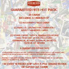 MLB Hit Hot Pack Mystery Baseball Card Auto, Relics, Rookies, GUARANTEED OHTANI