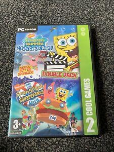 SpongeBob SquarePants Lights, Camera, Pants!  & Movie  Double Pack Pc Cd Rom