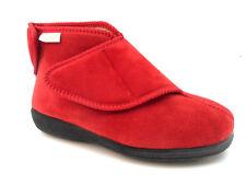 Wide Mens Gents DIABETIC Easy Close ORTHPEDIC Sippers Shoe Bootie Indoor Outdoor