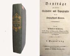 Histoire et topographie du Herzogthums Carinthie - 2 volumes - 1817/19